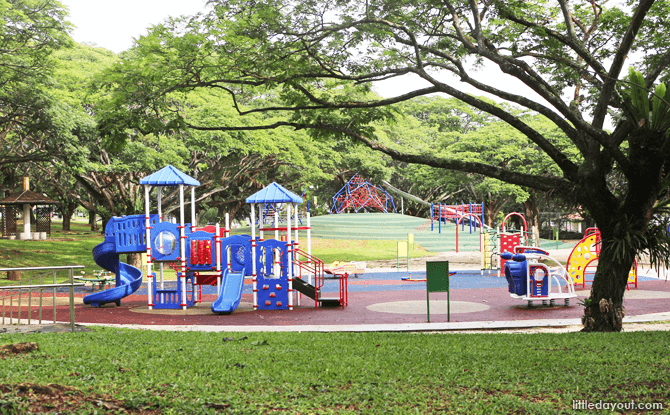 Transport Playground at Pasir Ris Park - Best Parks in Singapore for Families