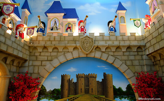 Castle in Teddy Bear Safari's Fairy Tale Land