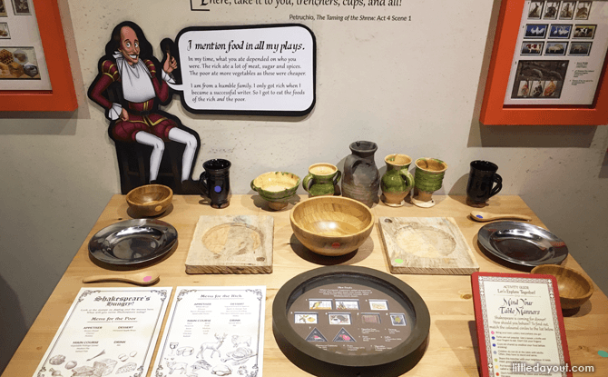 Shaking It With Shakespeare Philatelic Museum Food