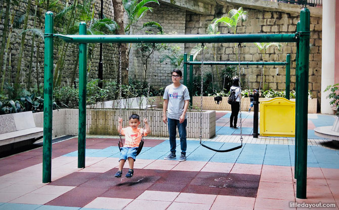 Children's Playground at the Hong Kong Zoological and Botanical Gardens
