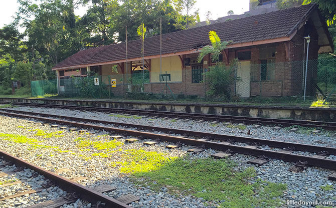 Old Bukit Timah Railway Station
