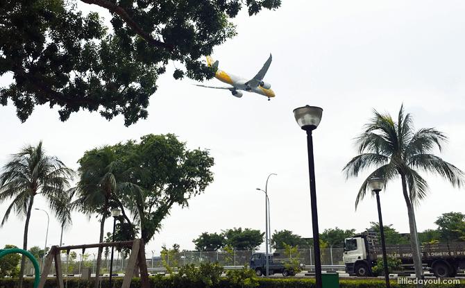 Plane Spotting, Changi Beach Park