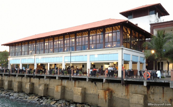 Waterfront Dining at SAF Yacht Club