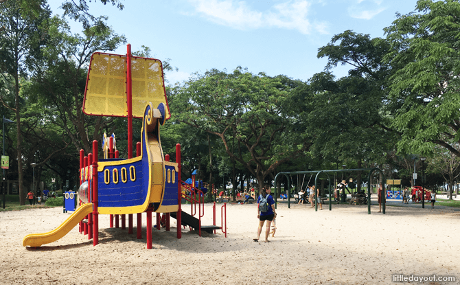 Viking Ship Playground, West Coast Park