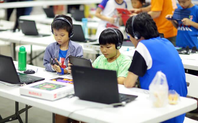 Tech workshops for children