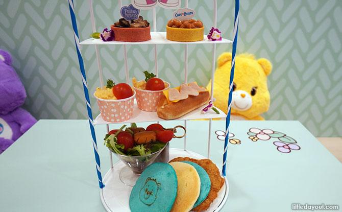 """Grumpy Bear's Big Caring Hug Breakfast """"High-Tea"""" set"""