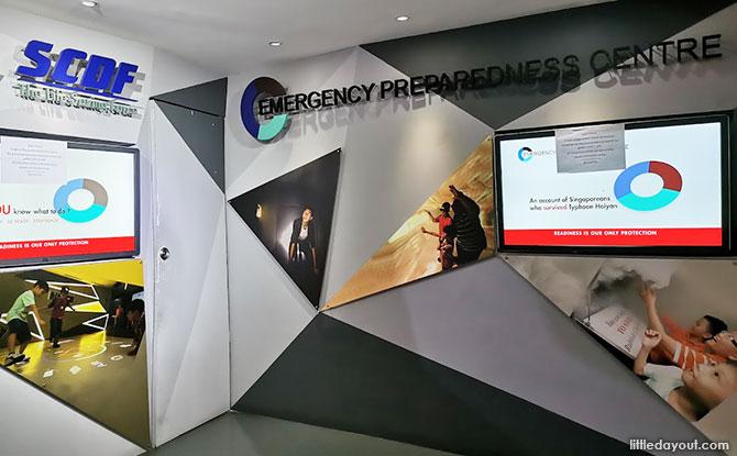 SCDF Emergency Preparedness Centre