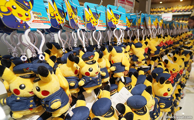 Pilot Pikachu Plushie and Other Singapore-exclusive Merchandise