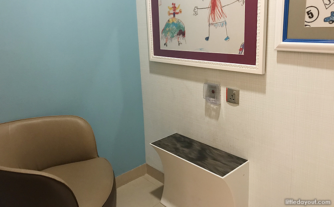 breastfeeding room