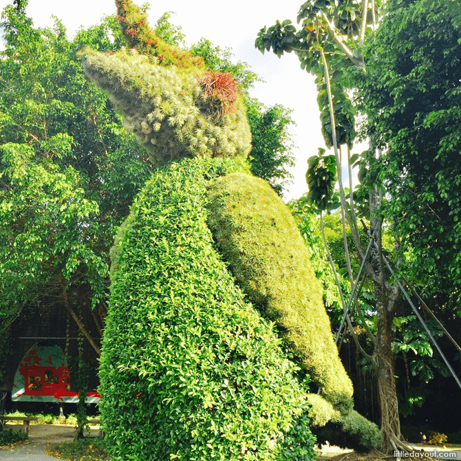 Topiary at Gardens by the Bay
