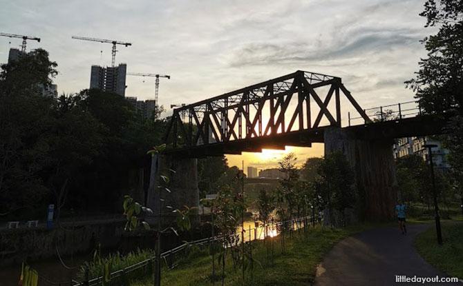 Points of Interest at Sungei Ulu Pandan Canal, Ulu Pandan Park Connector
