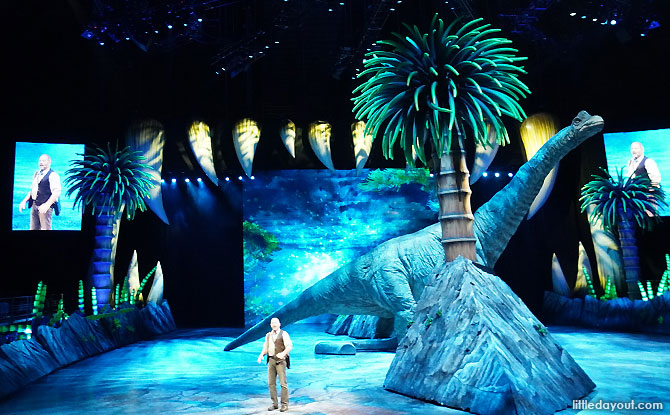 Huxley - Walking with Dinosaurs 2019 in Singapore - Review