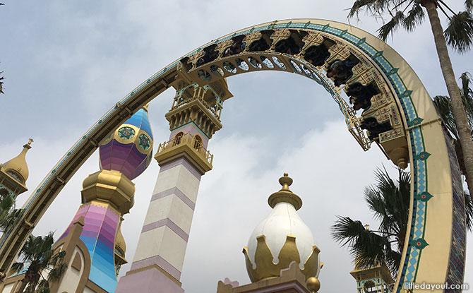 Leofoo Village Theme Park roller coaster