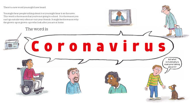 Helping Address Questions about the Coronavirus that  Children May Have - Coronavirus - A Book for Children