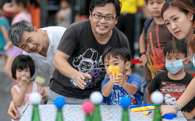 Sports Hub Community Play Day - Water Festival