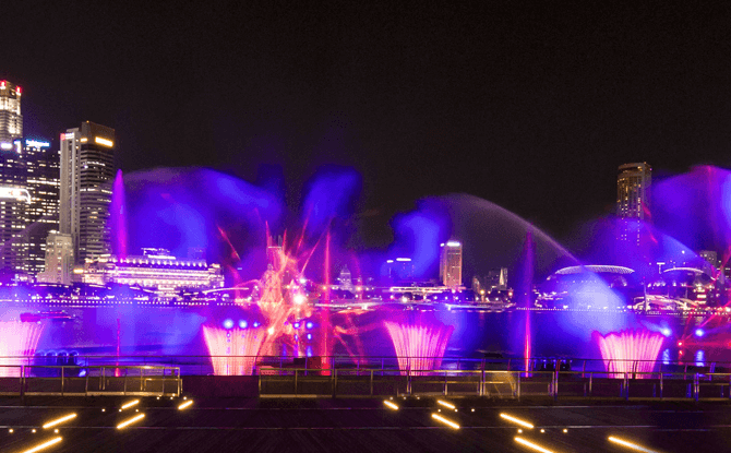 Spectra Light and Water Show