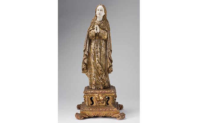 The Virgin Mary. Image courtesy of Asian Civilisations Museum