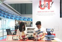 Design And Print Your Own T-Shirt At UNIQLO Orchard Central