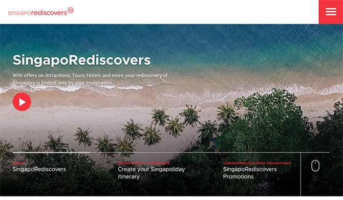 Singaporediscovers Website