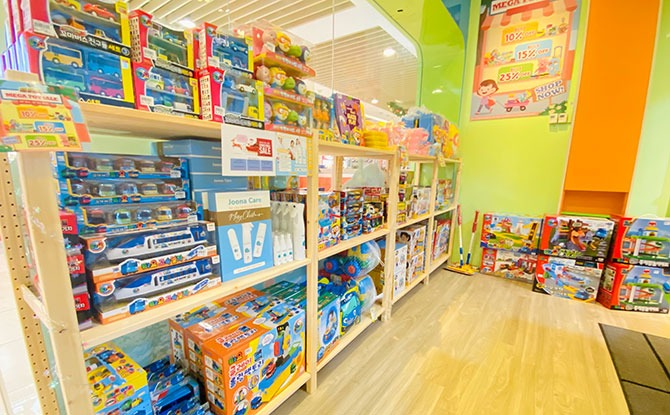 Tayo Station Pop-up Playground & Toy Shop at City Square Mall