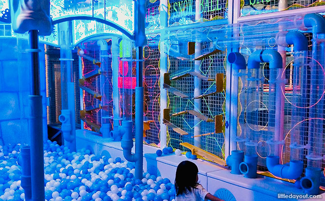 Indoor Playground at Great World City, Amazonia Singapore