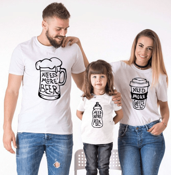 e10 Beer Coffee Milk Tshirts