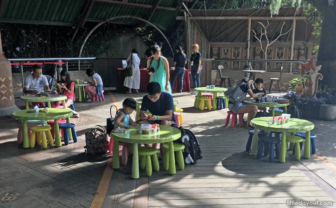 Easter-themed Crafts, Jurong Bird Park, Waterfall Aviary