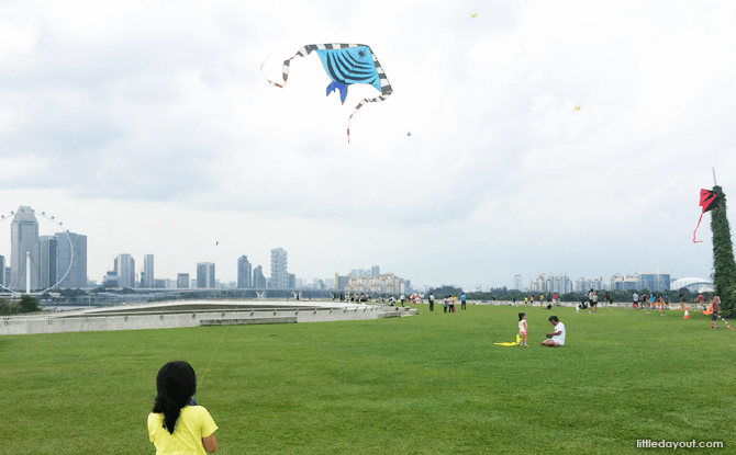 Kite Marina Barrage