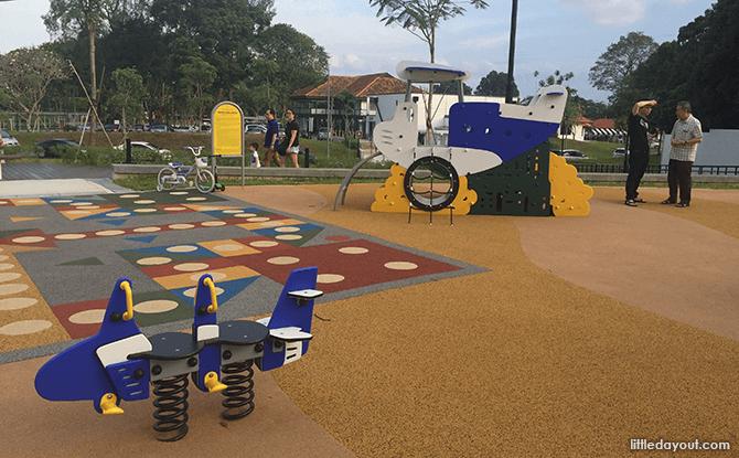 Playground Mini Planes