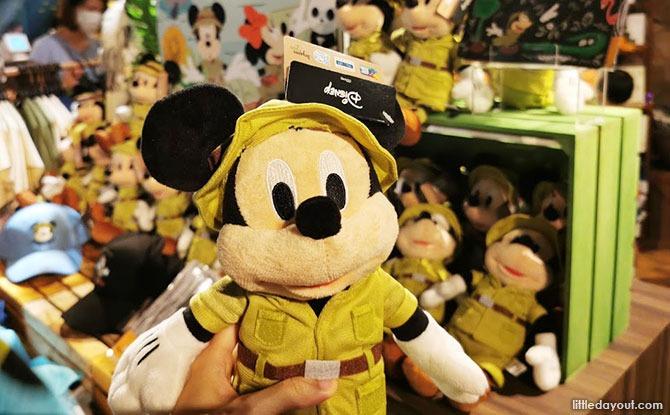 Disney Outdoor Explorers merchandise