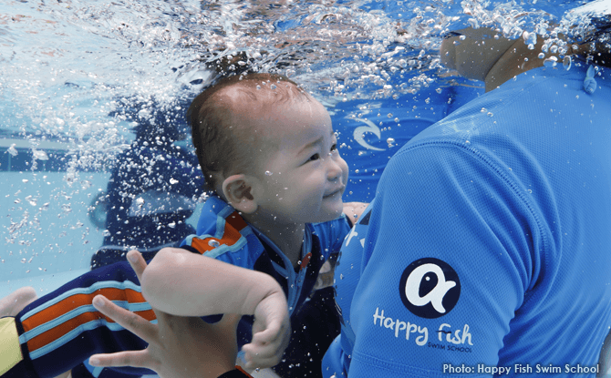 Ask the Experts Swimming Lessons Happy Fish