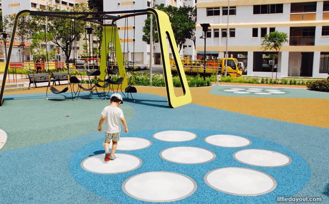 Yishun Green interactive playground lightpads