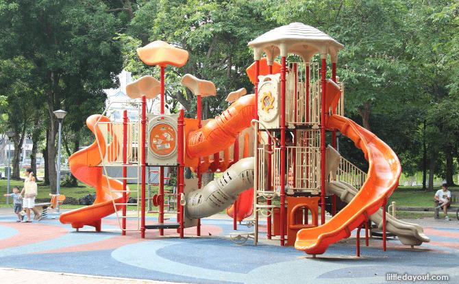 Children's Playground at Punggol Park