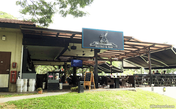 Dining at Pasir Ris Park