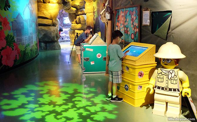 Interactive booths at SEA Life Malaysia