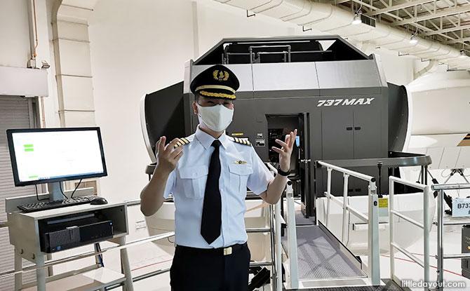 SIA's Flight Simulators