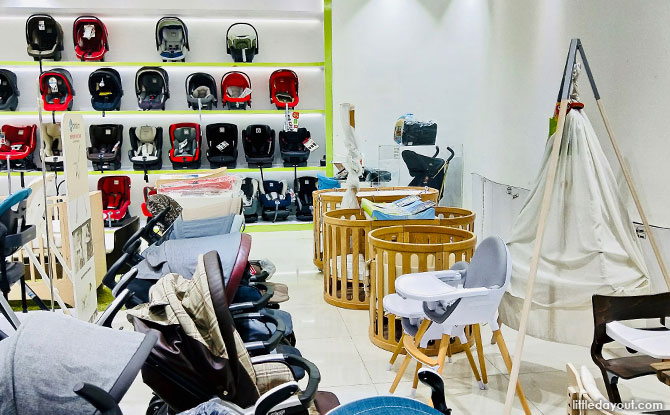 Ubi Baby Shops: Shopping At Baby Kingdom and Baby Hyperstore