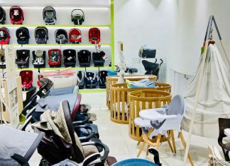 Ubi Baby Shops: Shopping At Baby Kingdom and Baby Hyperstore - Leander cots and high chairs