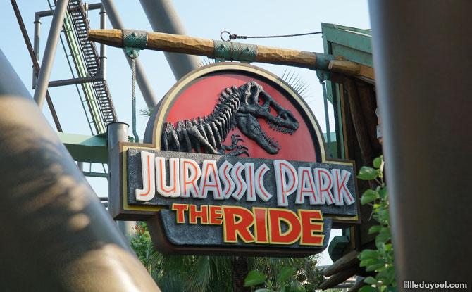 Jurassic Park – The Ride, USJ