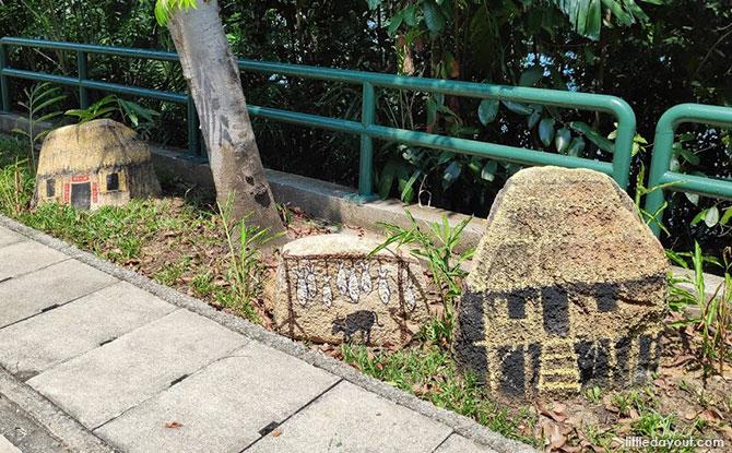 Murals at Sentosa Siloso Walk, Fort Siloso
