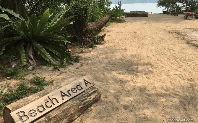 Beach Area A