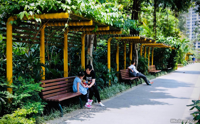 Hong Kong Zoological and Botanical Gardens is located on Albany Road, Mid-Levels, Hong Kong Island