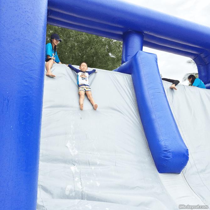 Sentosa FunFest 2016 water slide