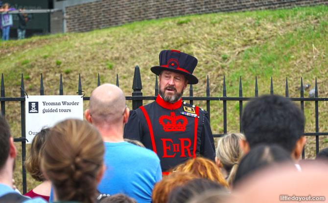 Yeoman Warder at Tower of London