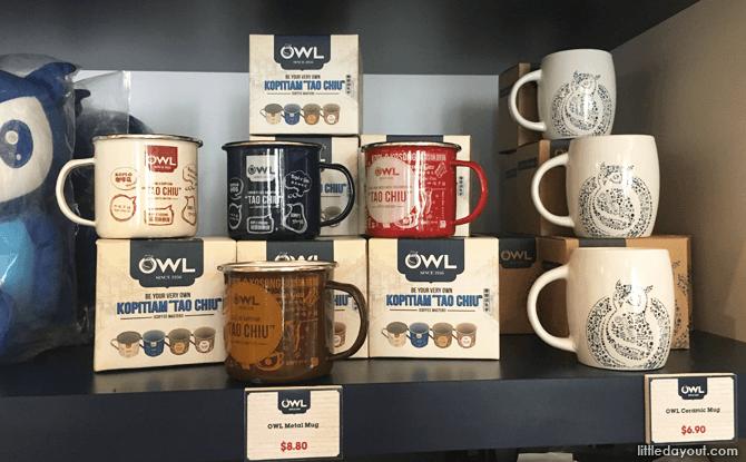 Metal mugs on sale