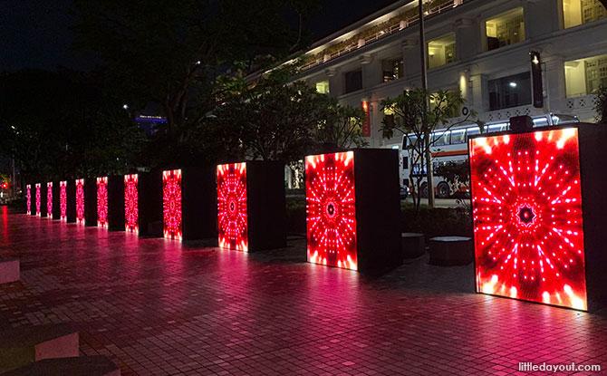 Disco Walkway, Singapore Night Festival 2019