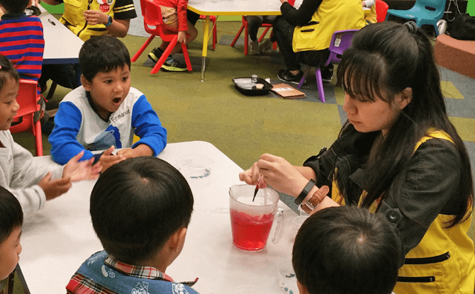 The Confectionary Lab during Children's Season Singapore 2017