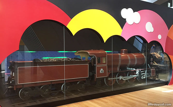 """Victorian Railway's 1917 steam locomotive and the """"Museum Station"""""""