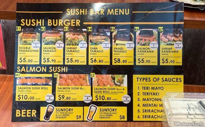 Don Don Donki Sushi Bar Burger