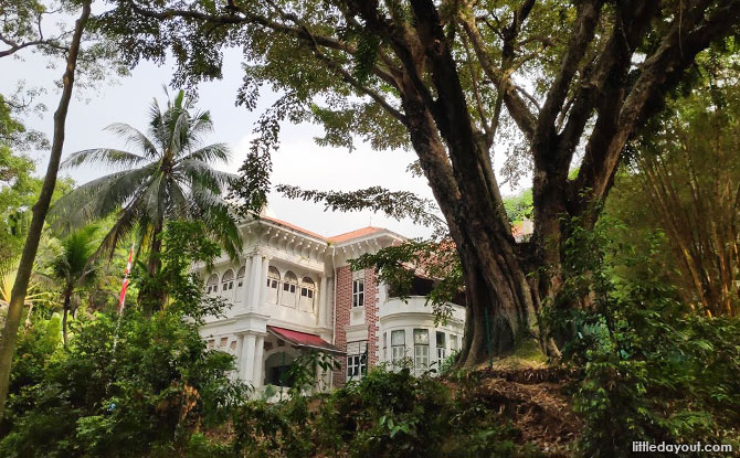 Goldbell Mansion, Mount Faber